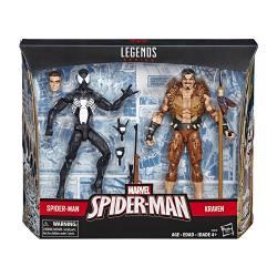 Marvel漫威英雄 - 漫威蜘蛛人傳奇6吋人物二入組 - 蜘蛛人  獵人