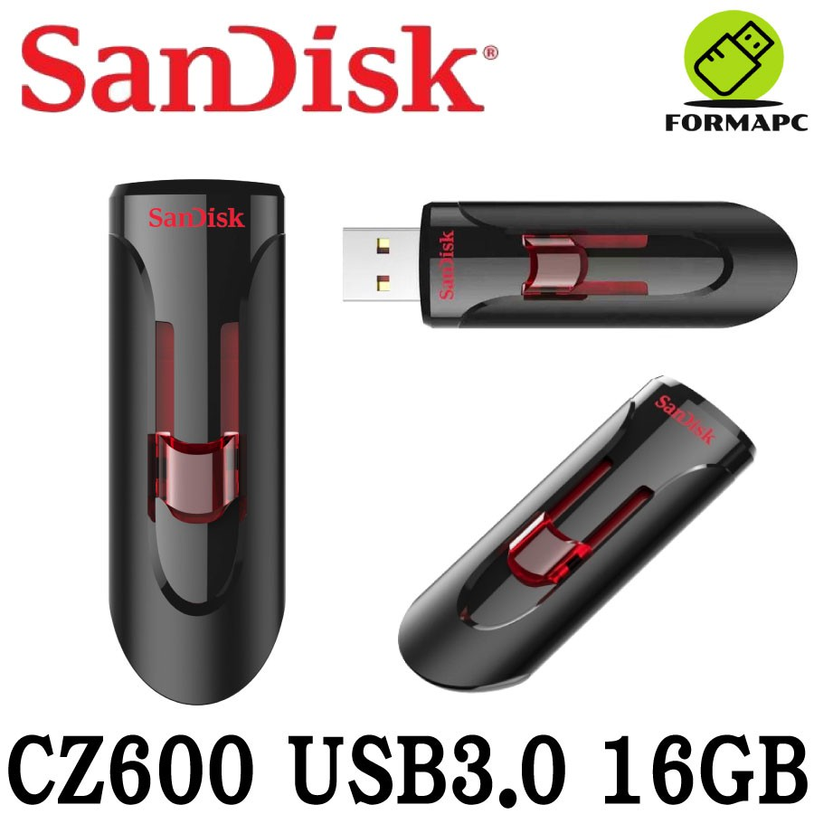 SanDisk Cruzer Glide CZ600 USB3.0 隨身碟 16GB 16G 高速擴充碟 送吊繩