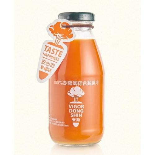 【VDS活力東勢】胡蘿蔔綜合蔬果汁(290mlx24瓶/箱)-台灣農漁會精選