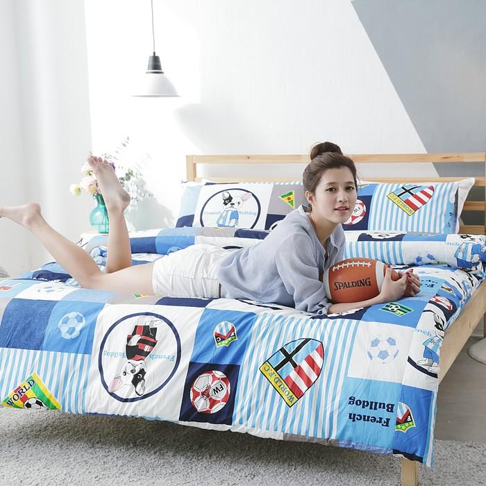 100%天然精梳純棉-床包組/被套(台灣製造)|B140|SC生活美學寢具坊 ( 床巾 床單 枕套 被單)