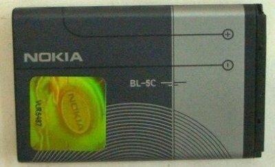 【台灣3C】全新 NOKIA 1800.5030.5130XM.5132XM.6030 (BL-5C)~原廠電池290元