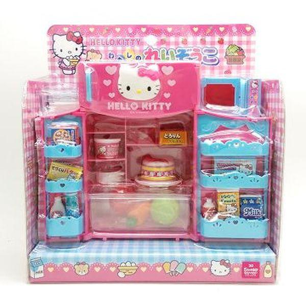 日本 Hello Kitty 辦家家酒 冰箱微波爐玩具 廚房玩具組(3855) 中國製