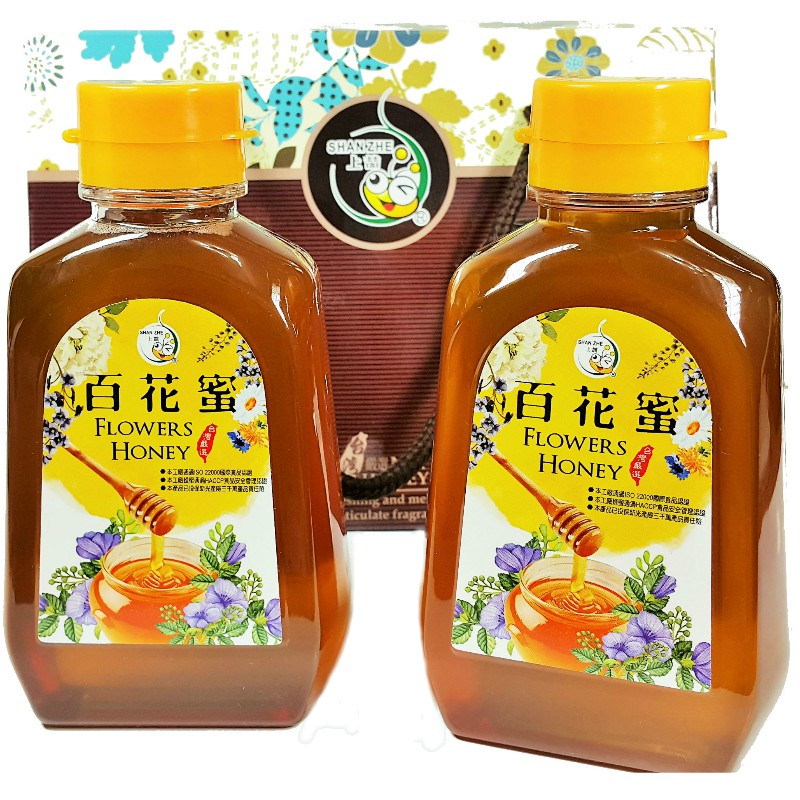 [上喆蜂蜜]百花蜂蜜禮盒/460G(2入)