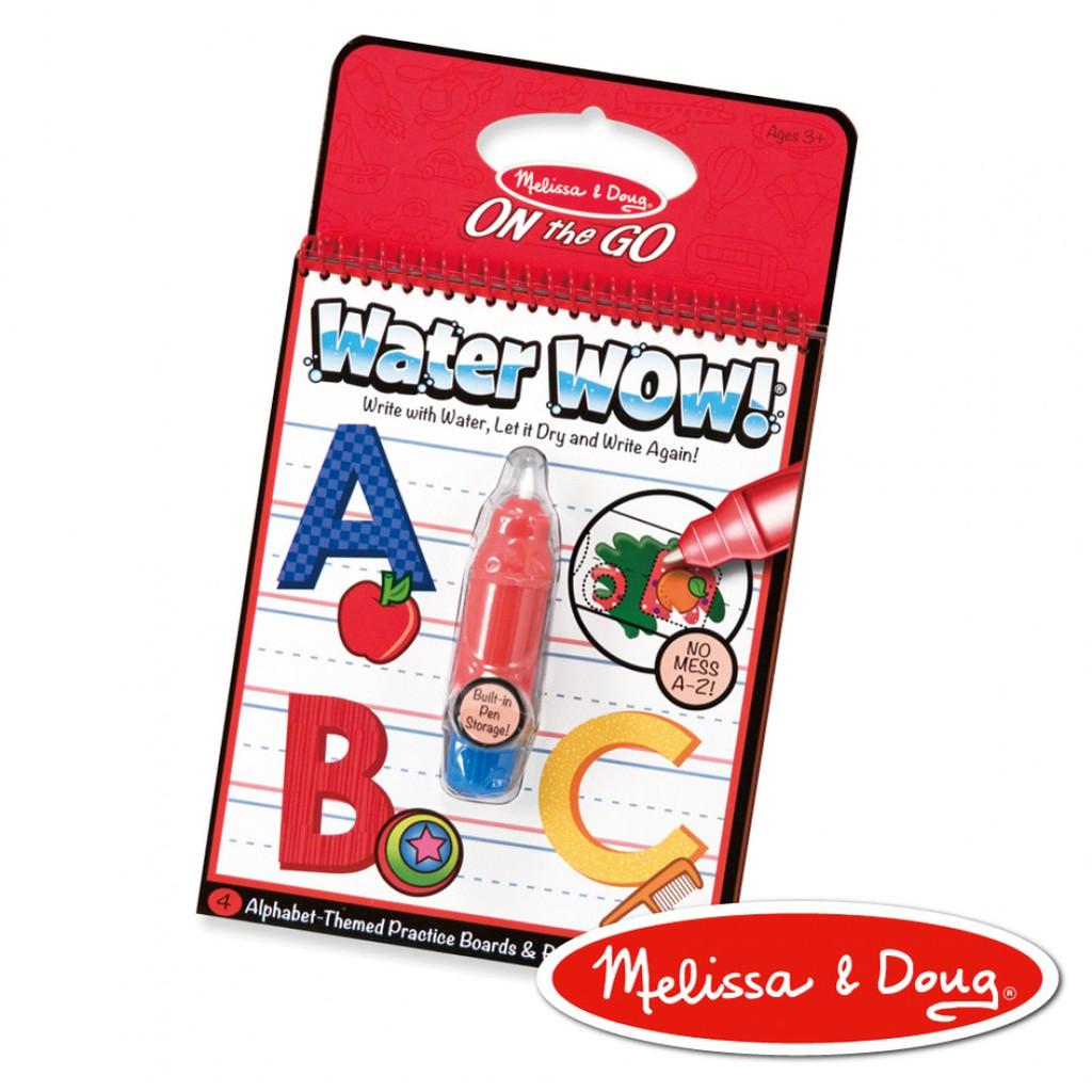 Melissa & Doug - 旅遊樂 水畫冊 英文字母學習A-Z