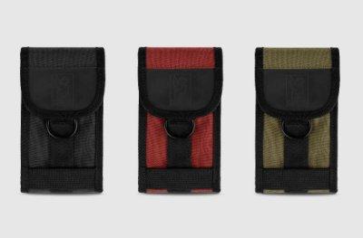 { POISON } CHROME PHONE POUCH 多用途雙夾層手機包腰掛包 可接背帶