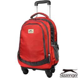 Slazenger 史萊辛格 加大款可拆式拉桿後背包(紅)