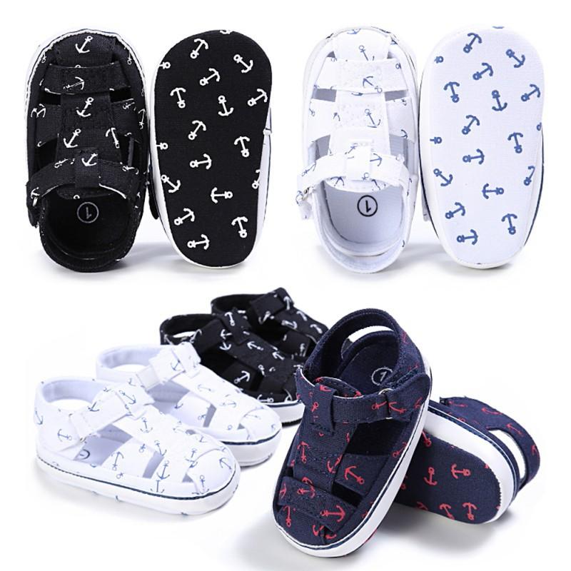 男寶寶夏季休閒鏤空透氣軟底涼鞋【IU貝嬰屋】