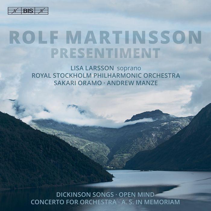 (BIS) 拉森 馬丁頌 (預感) Larsson Martinsson Presentiment SACD2133