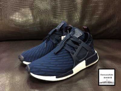Adidas nmd xr1 深藍 藍白 歐洲限定色 限量球鞋 BA7215