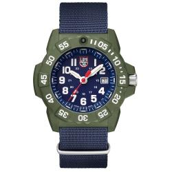 LUMINOX 雷明時 NAVY SEAL 海豹2代腕錶 – 藍x白時標/45mm A3503.ND