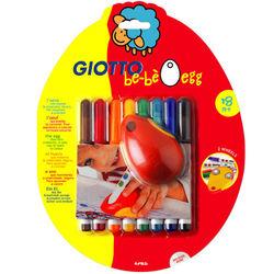 【義大利 GIOTTO BEBE 彩繪系列】可洗式寶寶滑鼠塗鴉筆 464100
