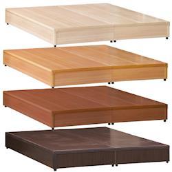【AB】百搭必備3.5尺單人床底-三分板(四色可選)