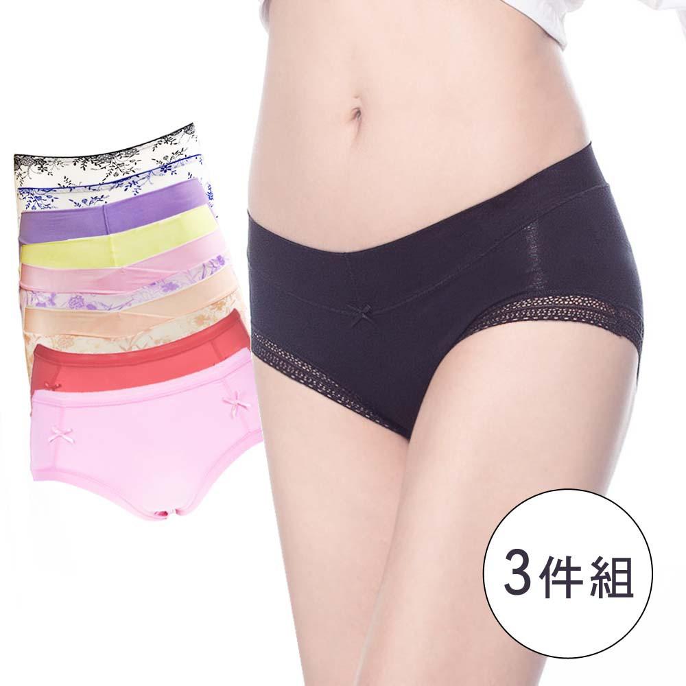 【K's凱恩絲】手工專利蠶絲內褲-多款任選(3件組)