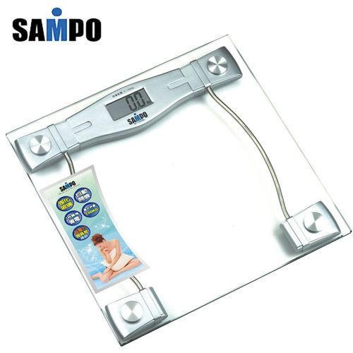 【SAMPO聲寶】造型電子體重計 BF-L904ML