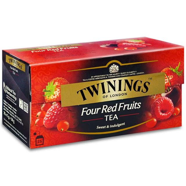 Twinings唐寧茶 經典四紅果茶