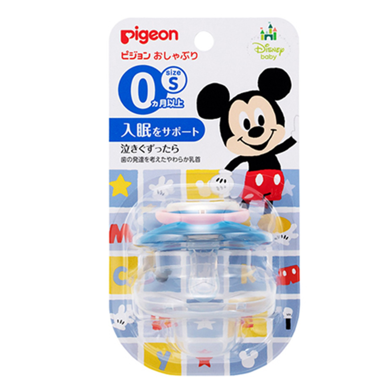 貝親 Pigeon - 迪士尼安撫奶嘴-米奇-藍色 (S)-0M以上