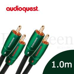 美國線聖 Audioquest Evergreen (RCA to RCA) 訊號線 1.0M/公司貨
