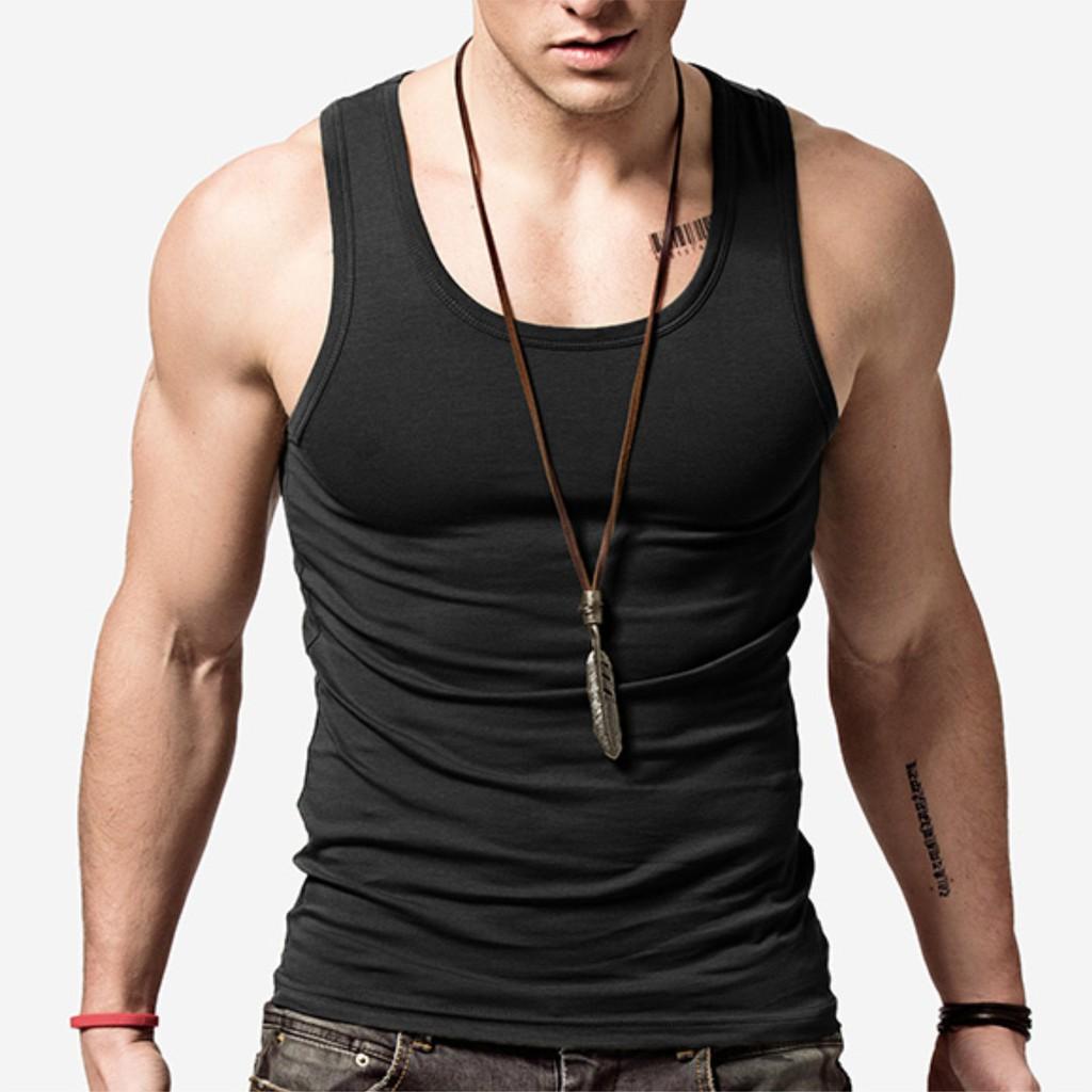 男背心 素色合身 超柔軟萊卡背心 吸汗排汗 襯衫內搭或直接單穿 高回購率 不一樣的材質 E08