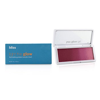Bliss 必列斯 Light the Glow Illuminating Gradient Powder Blush - # Berry Parfait 10g/0.35oz - 腮紅