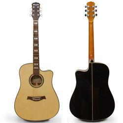 Memphis 41吋 頂級楓木面單 缺角桶身 民謠吉他