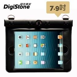 DigiStone iPad mini 7.9吋平板電腦防水袋/保護套/可觸控(溫度計型)適7.9吋以下平板-黑色
