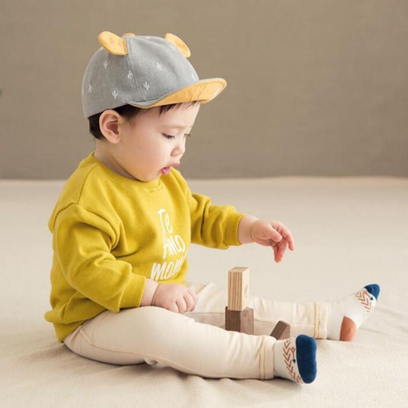 男女寶寶仙人掌刺繡小耳朵棒球帽【IU貝嬰屋】