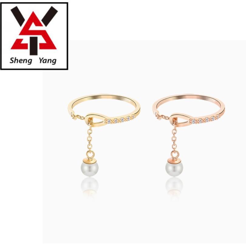 【S.Y】925純銀可調式簡約戒指 多色可選