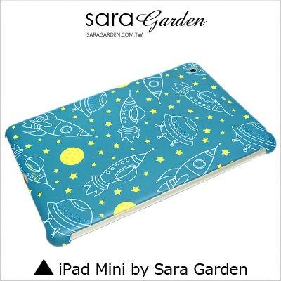 客製化 保護殼 iPad Mini 1 2 3 4 火箭 幽浮 月亮 Sara Garden