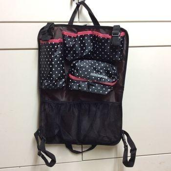 日本 Miki house 車用收納袋 面紙袋 置物袋 掛袋