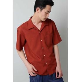 (TORNADO MART/トルネードマート)BLUE TORNADO∴トロワッシャーオープンカラー半袖シャツ/メンズ レンガ5