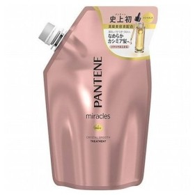 P&Gジャパン パンテーン ミラクルズ クリスタルスムース トリートメント 詰替 440g