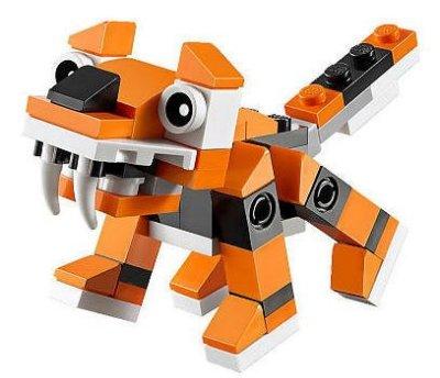 現貨【LEGO 樂高】全新正品 益智玩具 積木/ 創意系列 Creator: 老虎 Tiger 30285 袋裝