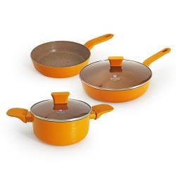 瑞士MONCROSS荷蘭皇家橘限定鍋具組