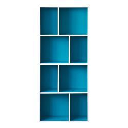 TZUMii升級款四層八格櫃-藍色