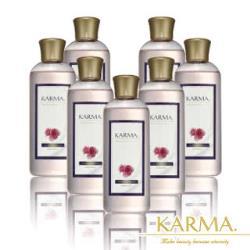 【丹麥KARMA】玫瑰精緻皂化沐浴露(7瓶)美肌加量組