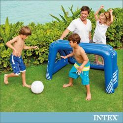 INTEX 兒童足球充氣玩具/水上手球網 (58507)