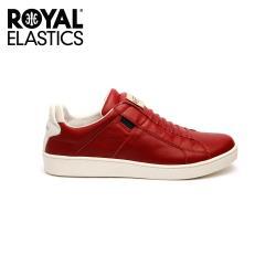 Royal Elastics 女-Icon SBI 真皮時尚休閒鞋-紅色(92584-110)
