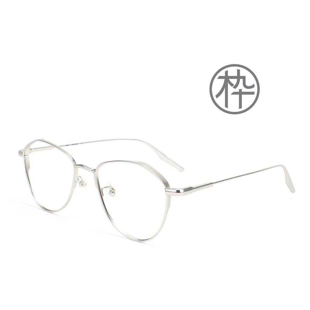 木九十 MUJOSH FM1840189 新款 鈦腿金屬蝶型框眼鏡