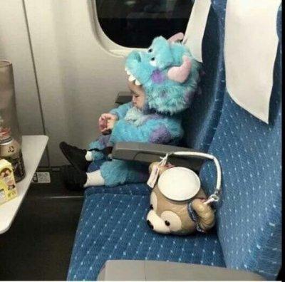 客製毛怪造型連身兔裝duffy熊裝孩子童裝小熊萌寶寶貝衣服