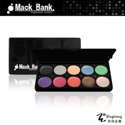 【Mack Bank】 炫彩眼影膏系列(3g)(含盒子)共10色可選 M05-06F