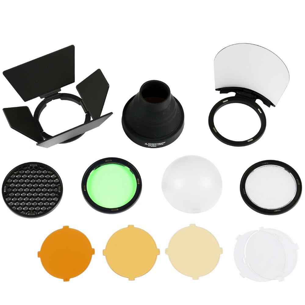 Godox 神牛 AK-R1 AD200圓形燈頭專用控光套件 濾色片套組 兆華國際