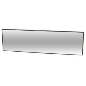 車之嚴選 cars_go 汽車用品【BW-833】NAPOLEX寬版曲面黑框車內後視鏡 後照鏡(長266 寬96 mm)