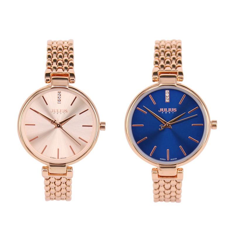 韓國JULIUS光和海的總和金屬鍊帶手錶【WJA9608】璀璨之星