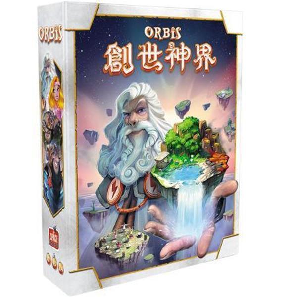 創世神界 Orbis 繁體中文版 高雄龐奇桌遊