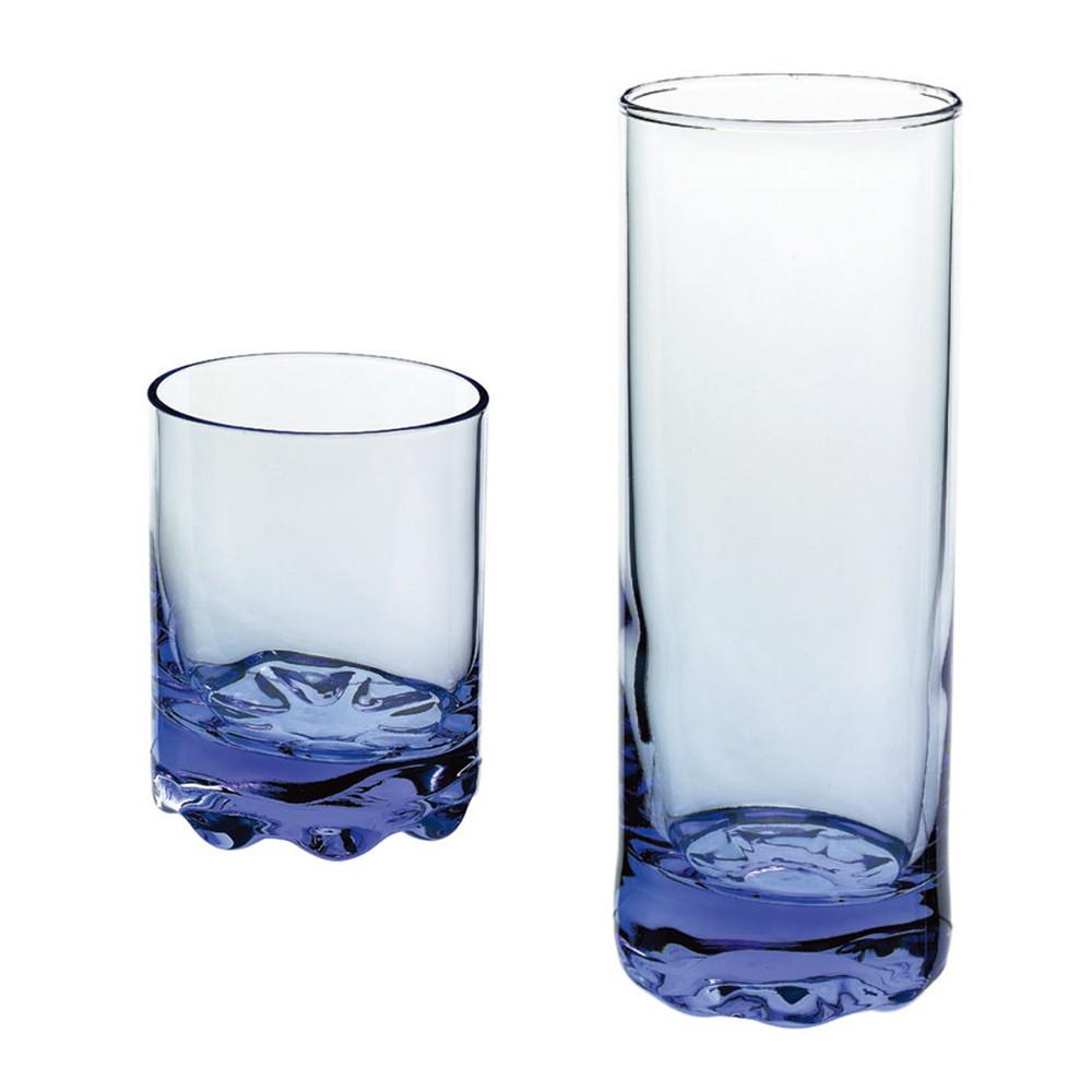 【義大利Bormioli Rocco】 藍色保羅水杯/飲料杯(3入組)《WUZ屋子》果汁杯 造型杯
