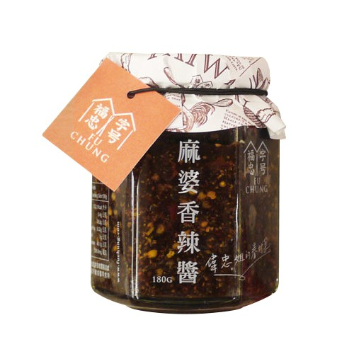 福忠字號 麻婆香辣醬(180g)【小三美日】D920013