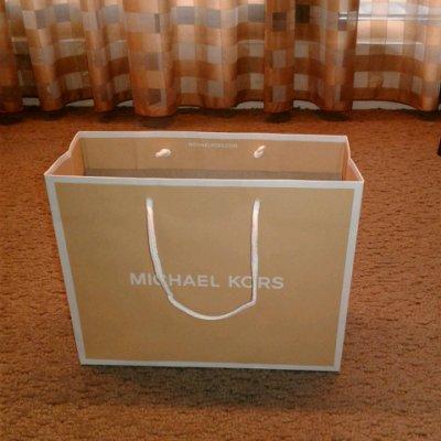 MICHAEL KORS MK 小紙袋 適合長夾、短夾、小飾品 超商取貨