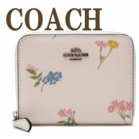 コーチ 財布 COACH 二つ折り 財布 レディース 花柄 ピンク 73025SVCAH ブランド 人気