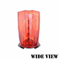 WIDE VIEW 自行車鐳射車道尾燈 NZL-SW