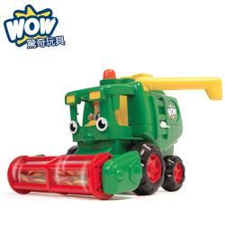 【 英國 WOW toys 】 稻穀收割機 哈維大叔